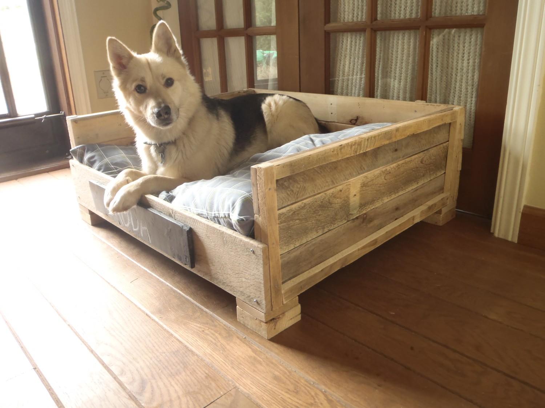 Сделать лежак для собаки своими руками